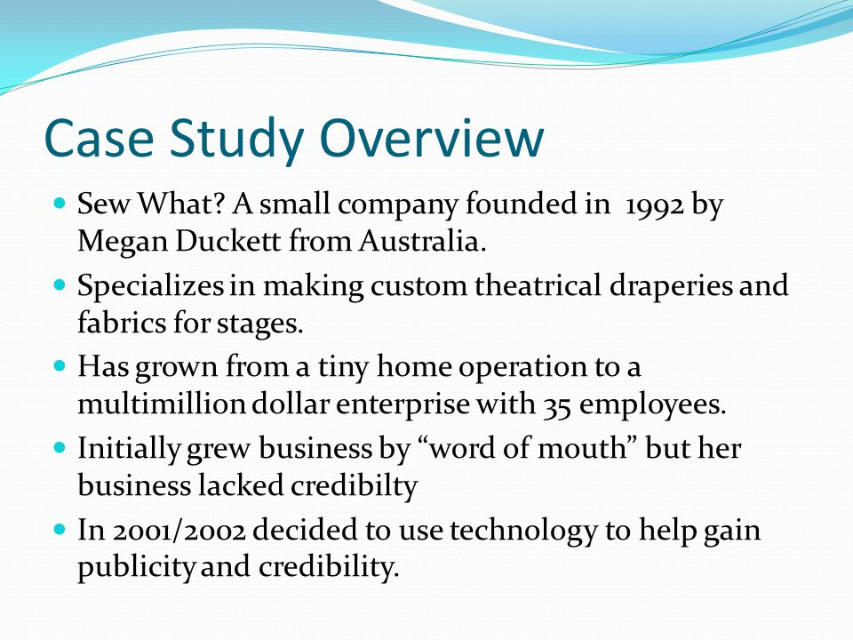 small business case study australia A study of business ethical practices in australian organisations - a multiple case study in view of the latest corporate collapses globally, the purpose of this thesis is an attempt to investigate and to theorise how managers make decisions when faced with an ethical dilemma.