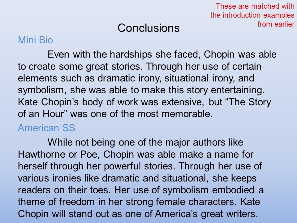 kate chopin symbolism