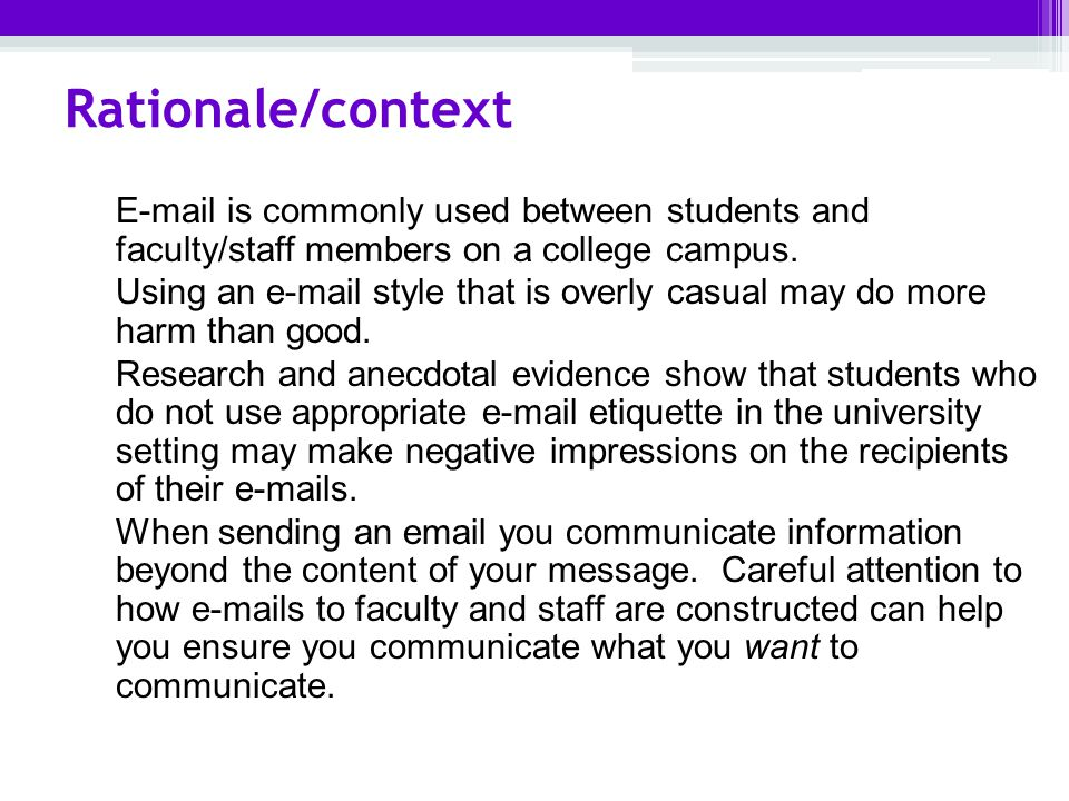 how to do a rationale for a research