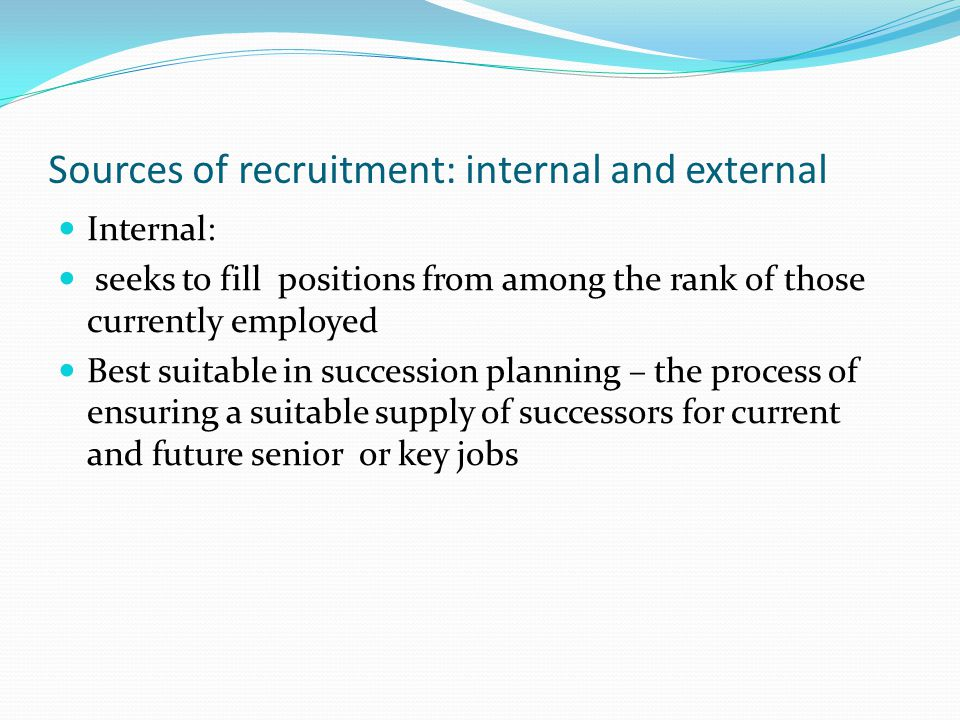 internal and external labour market pdf