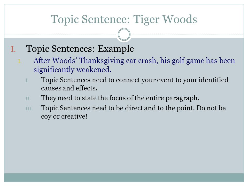 TIE-BACK TO THESIS STATEMENTS TRANSITION SENTENCES - ppt