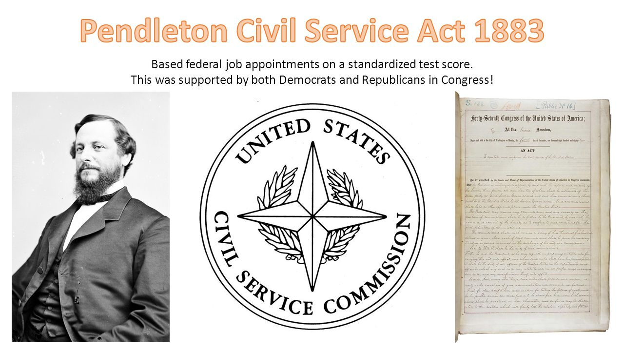 Pendleton Civil Service Act 1883
