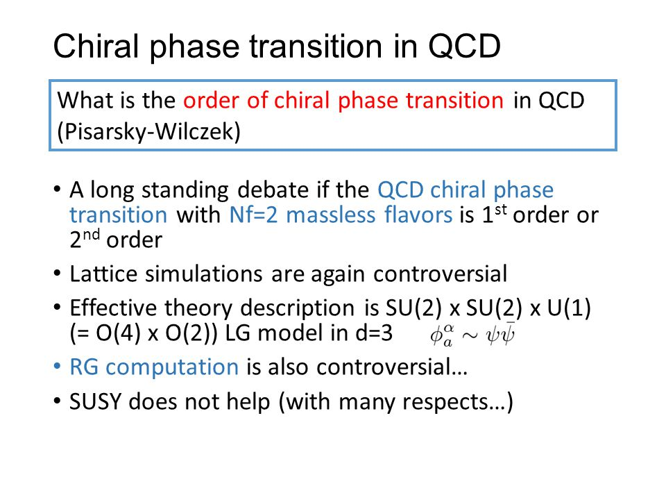 Chiral phase transition in QCD