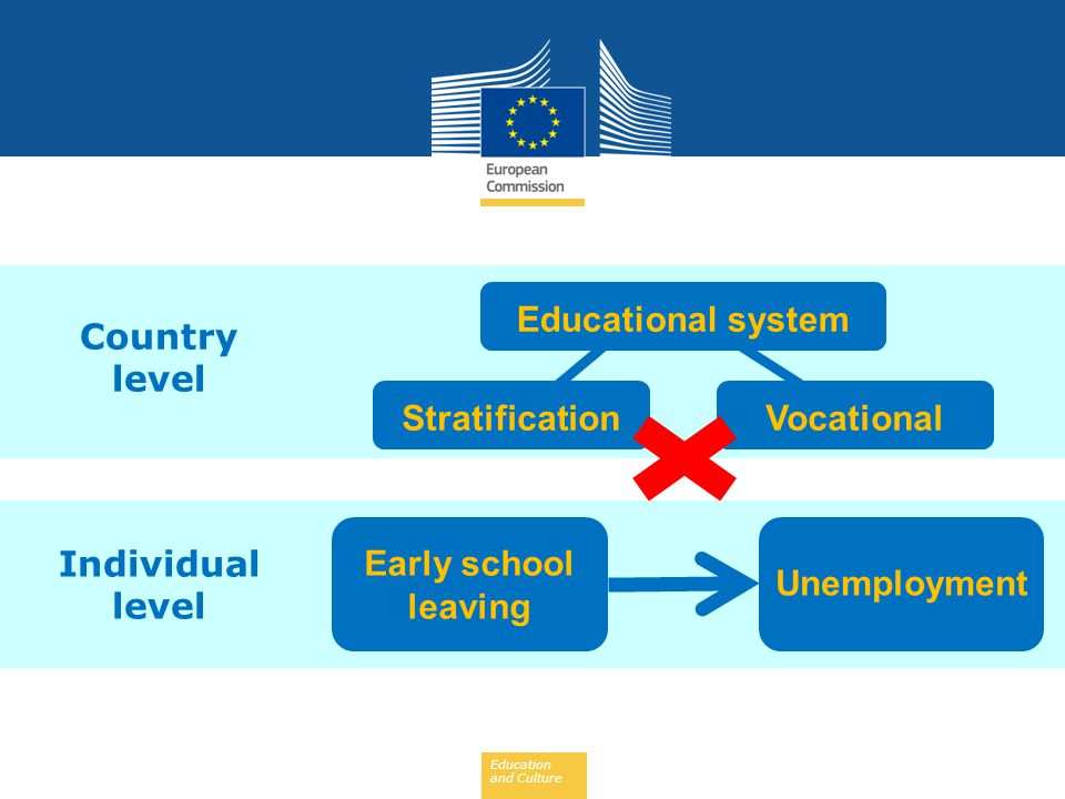 Country level Educational system Stratification Vocational