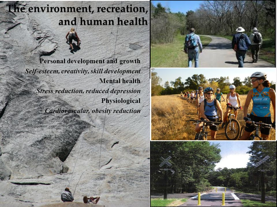The environment, recreation, and human health