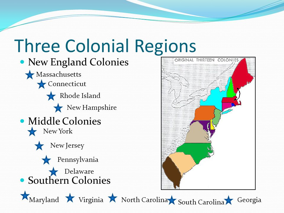 how the new england southern and middle colonies developed differently In contrast to new england and the middle colonies were the predominantly rural southern settlements: virginia, maryland, north and south carolina, and georgia by the late 17th century, virginia's and maryland's economic and social structure rested on the great planters and the yeoman farmers.