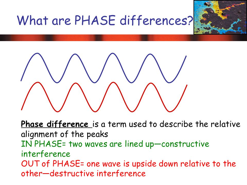 What are PHASE differences