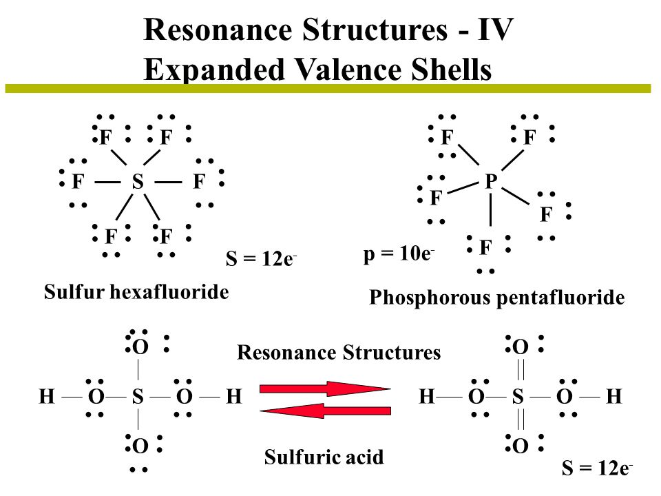 Resonance Structures - IV