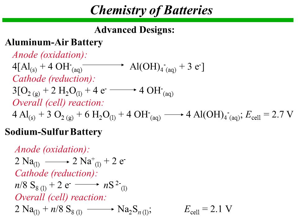 Chapter 21 electrochemistry ppt video online download for Design of oxidation pond numerical