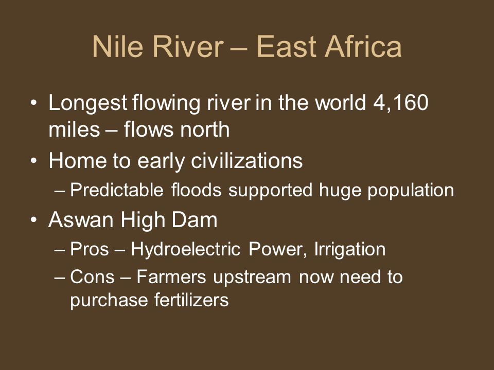 Nile River – East Africa