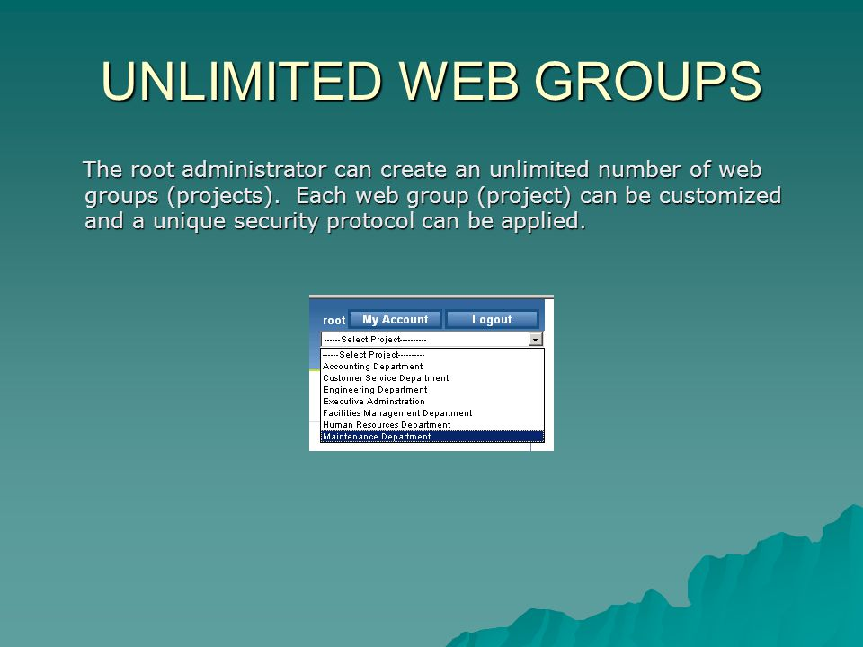 UNLIMITED WEB GROUPS