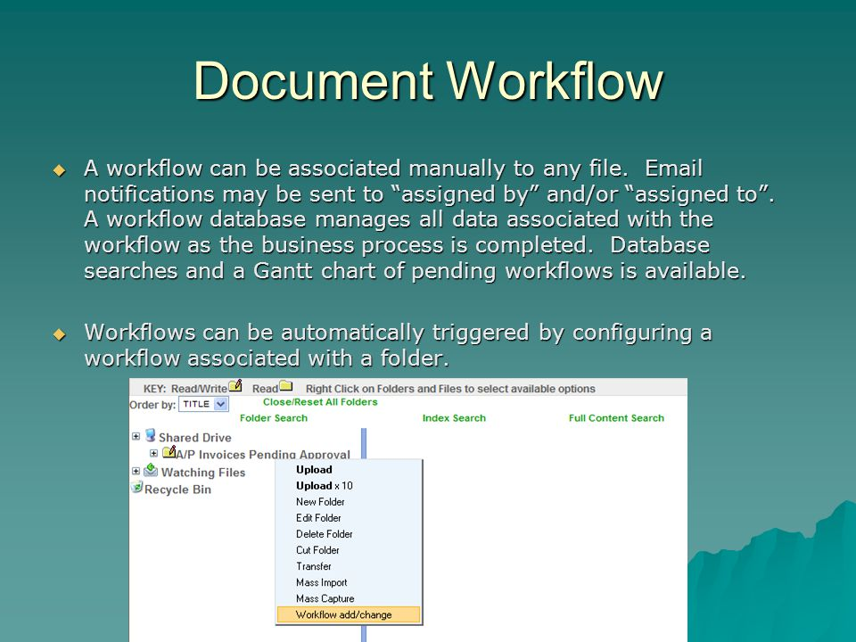Document Workflow