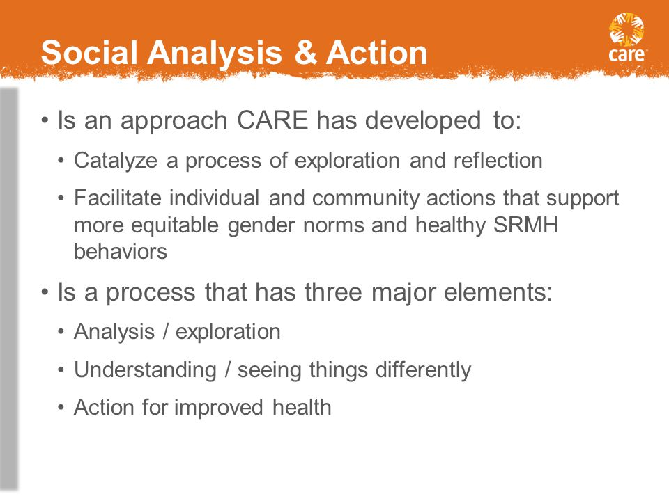Social Analysis & Action