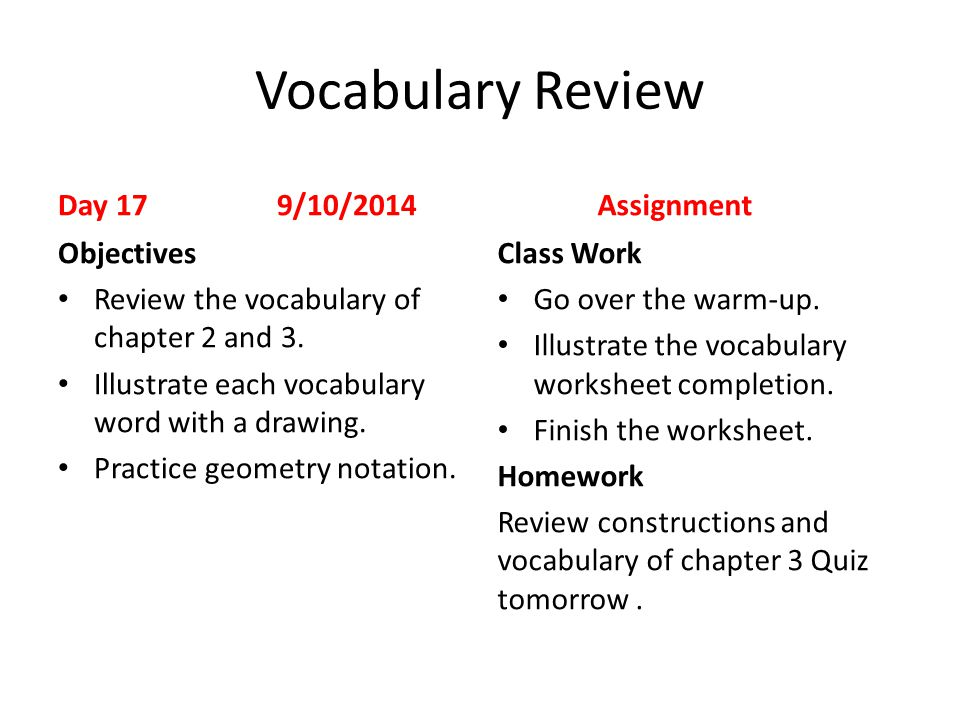 First Day Of School 1 8182014 Assignments Objectives Ppt. Worksheet. Geometry Construction Worksheet At Mspartners.co
