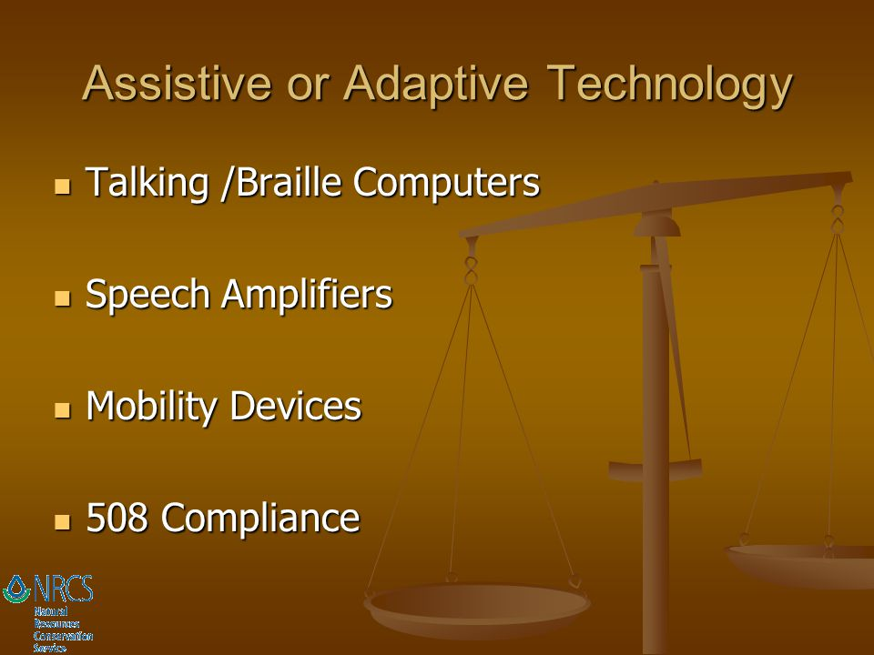 Assistive or Adaptive Technology