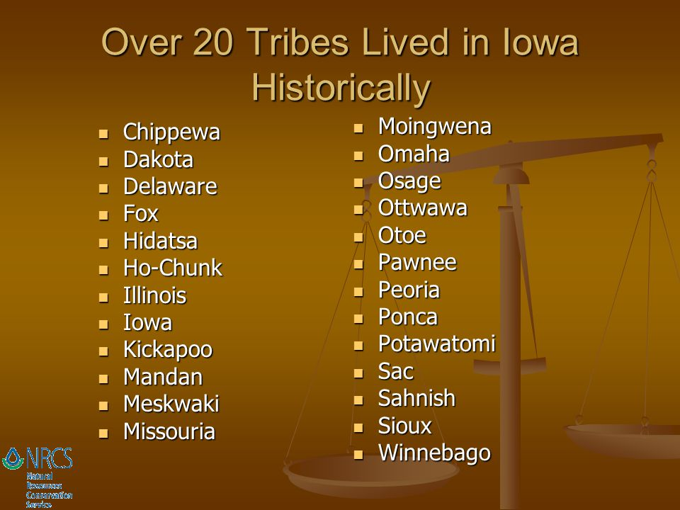 Over 20 Tribes Lived in Iowa Historically