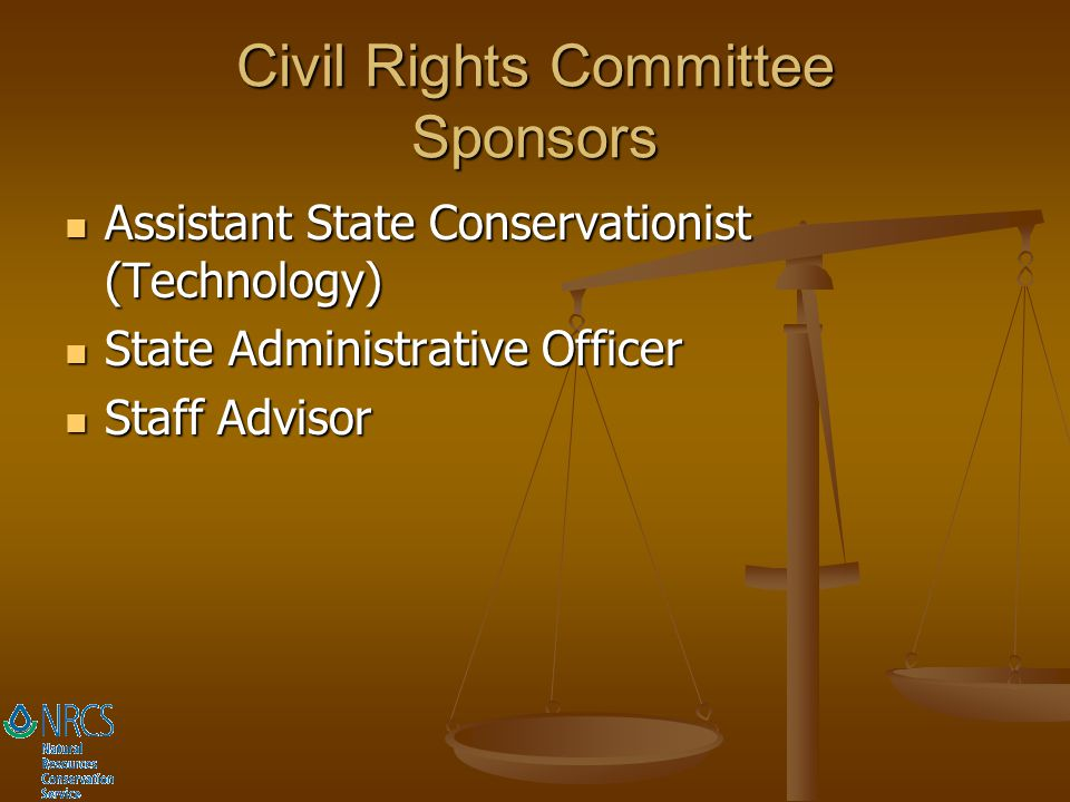 Civil Rights Committee Sponsors