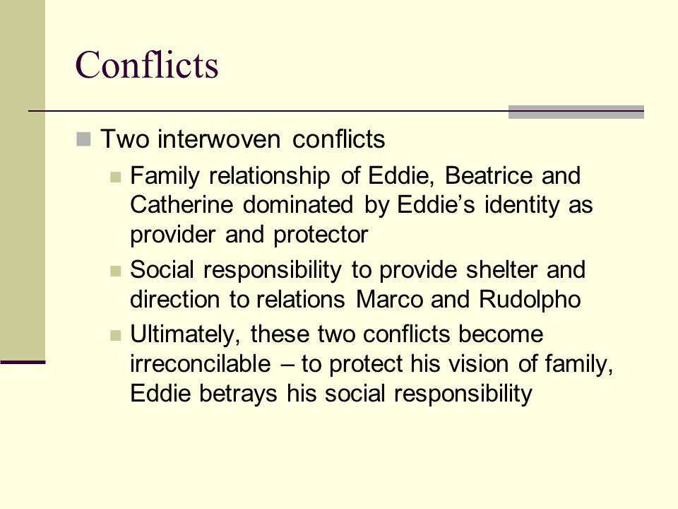 a view from the bridge relationships essays View my saved essays  downloads: 95 grade level:  in some relationships such as two lovers, they can also be best friends because they share good communication .