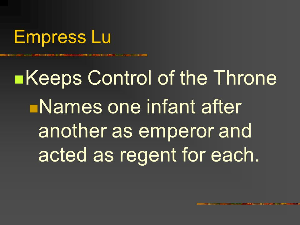 Keeps Control of the Throne