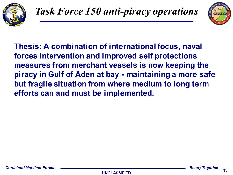 Task Force 150 anti-piracy operations - ppt download