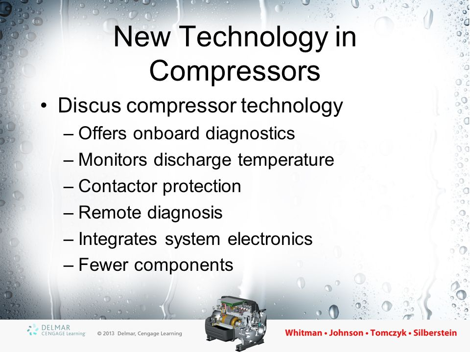 New Technology in Compressors