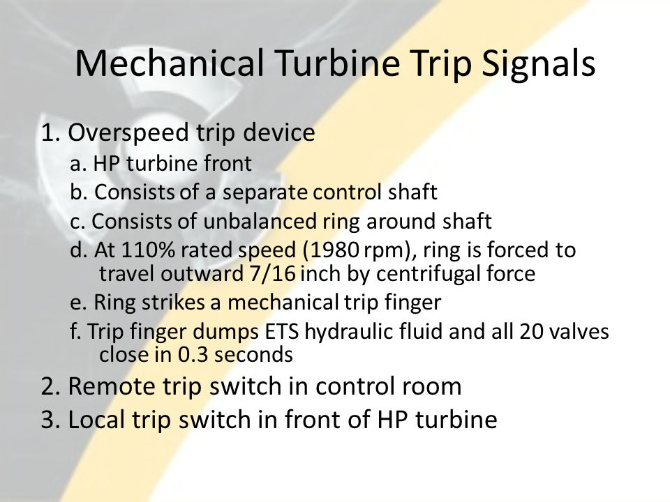 Turbine Protection And Control System Ppt Video Online