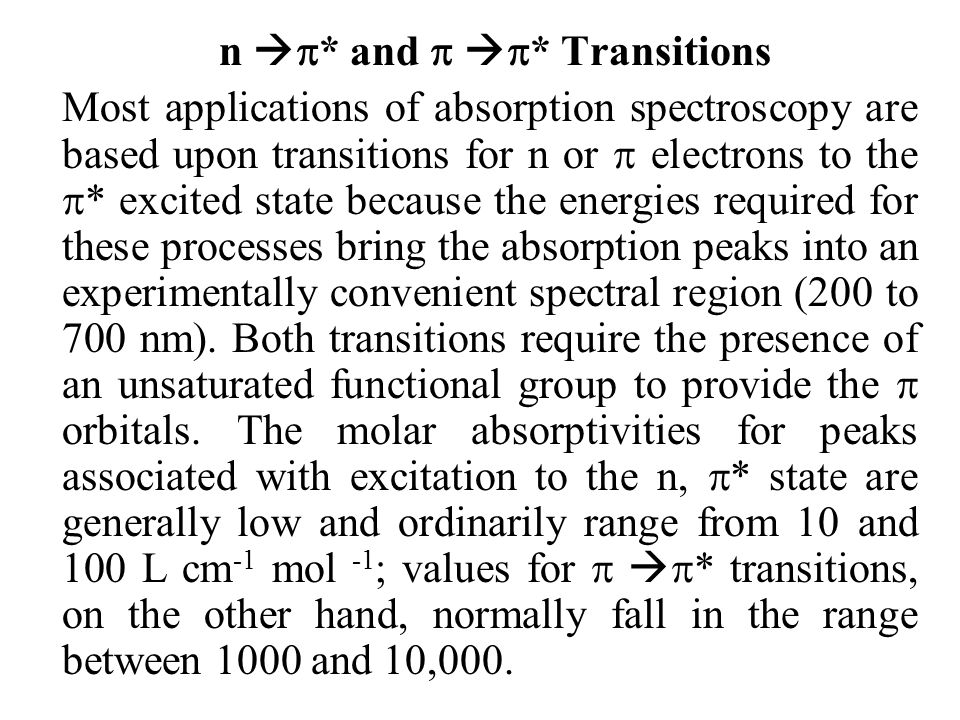 n * and  * Transitions