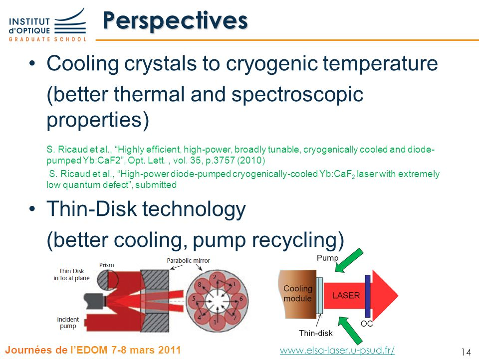 Perspectives Cooling crystals to cryogenic temperature