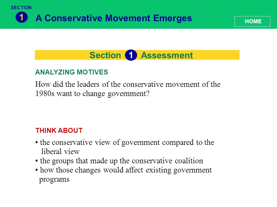 conservatism movement The conventional story of the rise of the conservative intellectual movement in america goes something like this: the great depression and pearl harbor discredited.