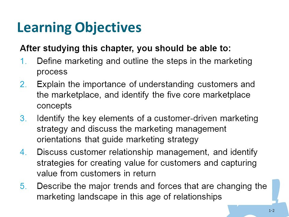 Learning Objectives After Studying This Chapter You Should Be Able