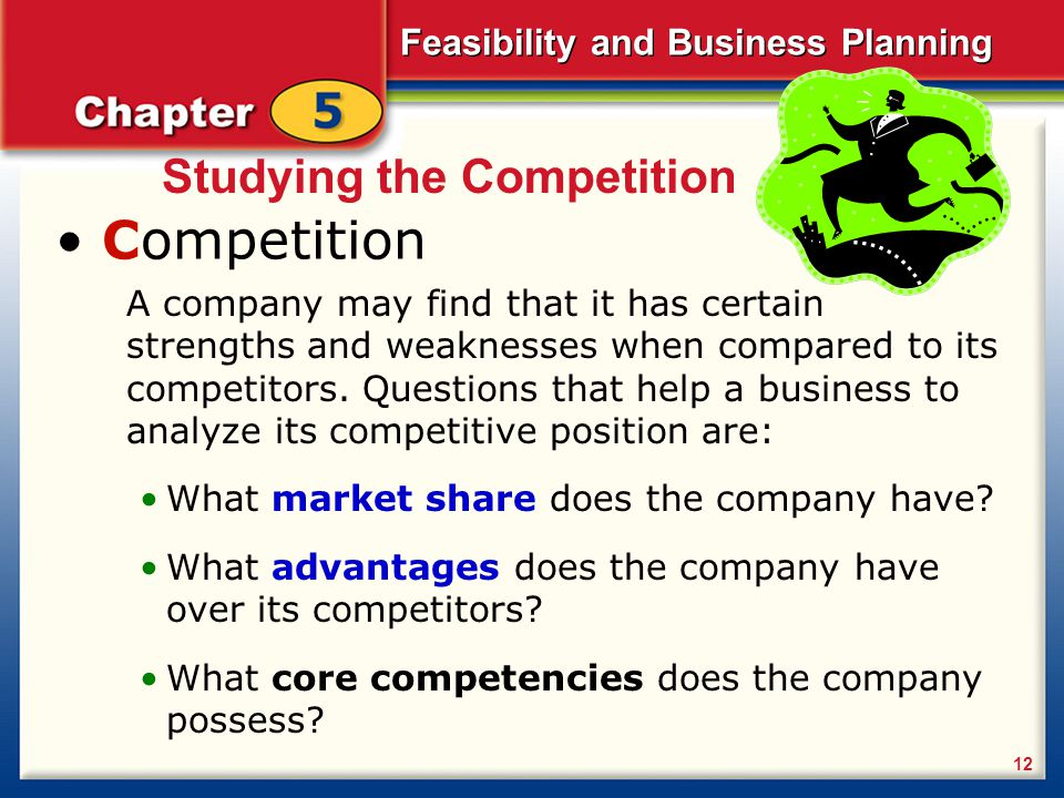 Competition Studying the Competition