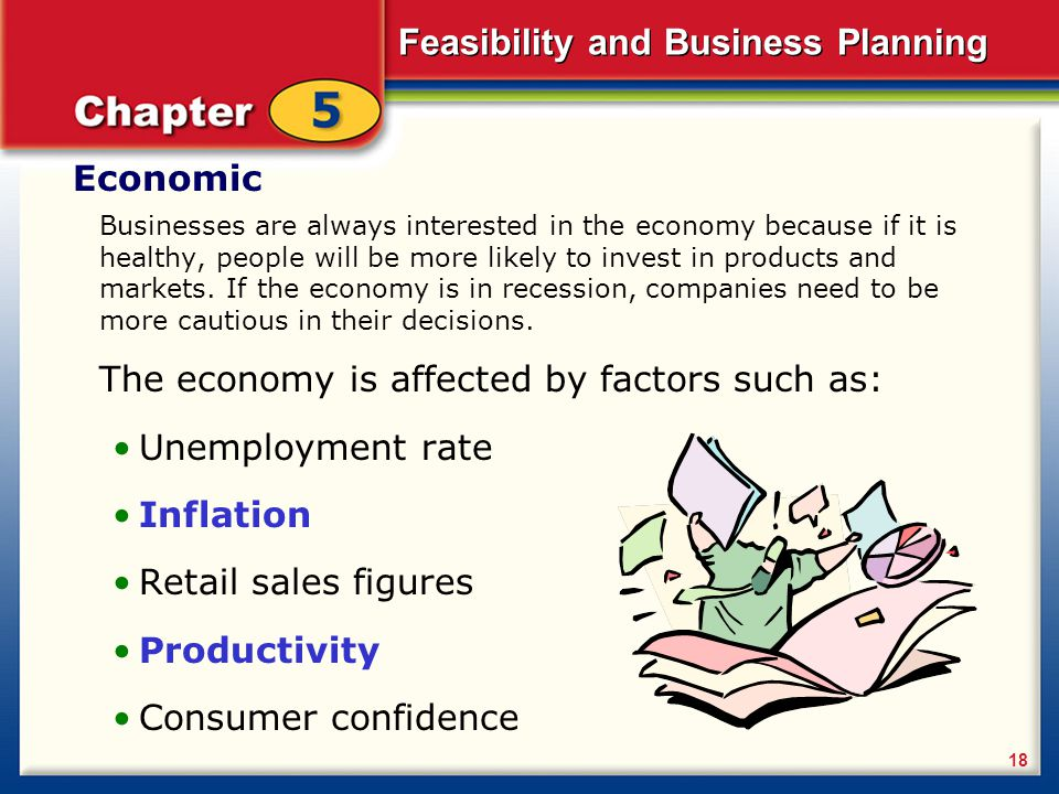 The economy is affected by factors such as: Unemployment rate