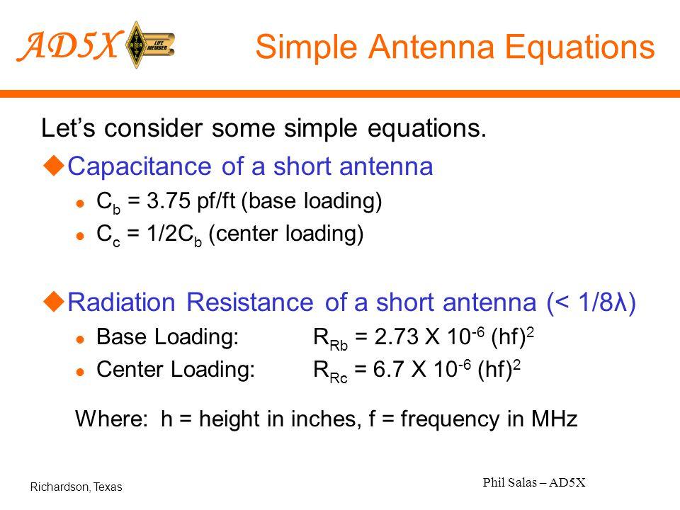 Antenna Hints & Kinks Short HF Antenna Efficiency