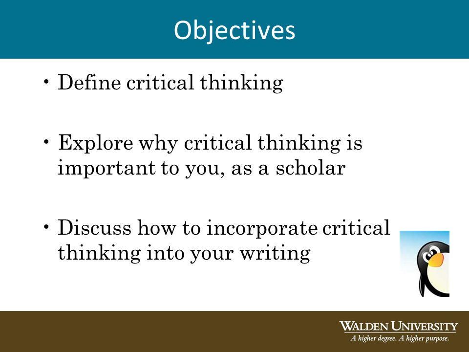 a discussion on the importance of critical thinking Critically thinking about critical thinking nathan on october 22, 2012  the key questions the author is asking, the important information the author is basing her or his argument on, the inferences/conclusions the author is drawing, the key concepts we would need to understand the author's argument, the main assumptions the author is.