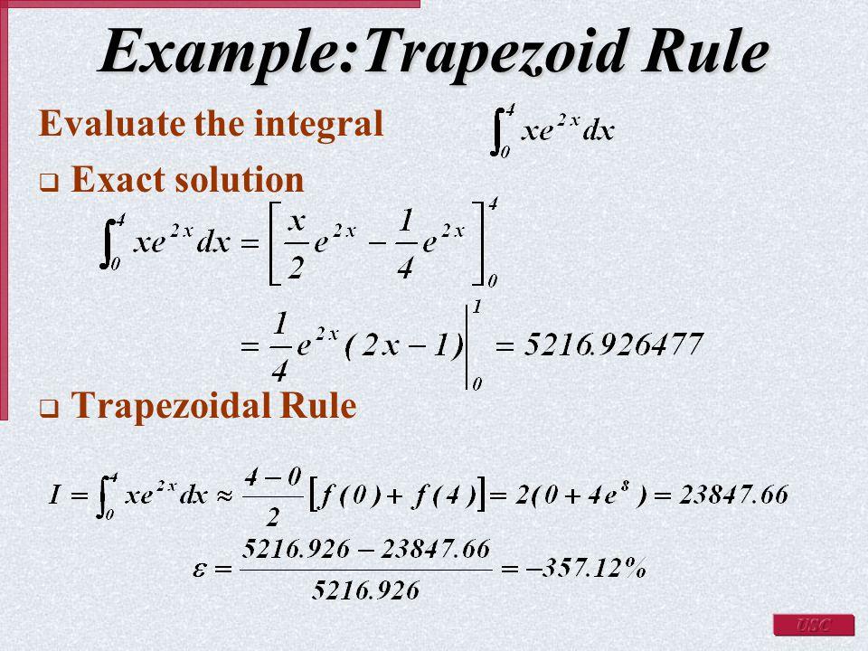 Trapezoid rule.