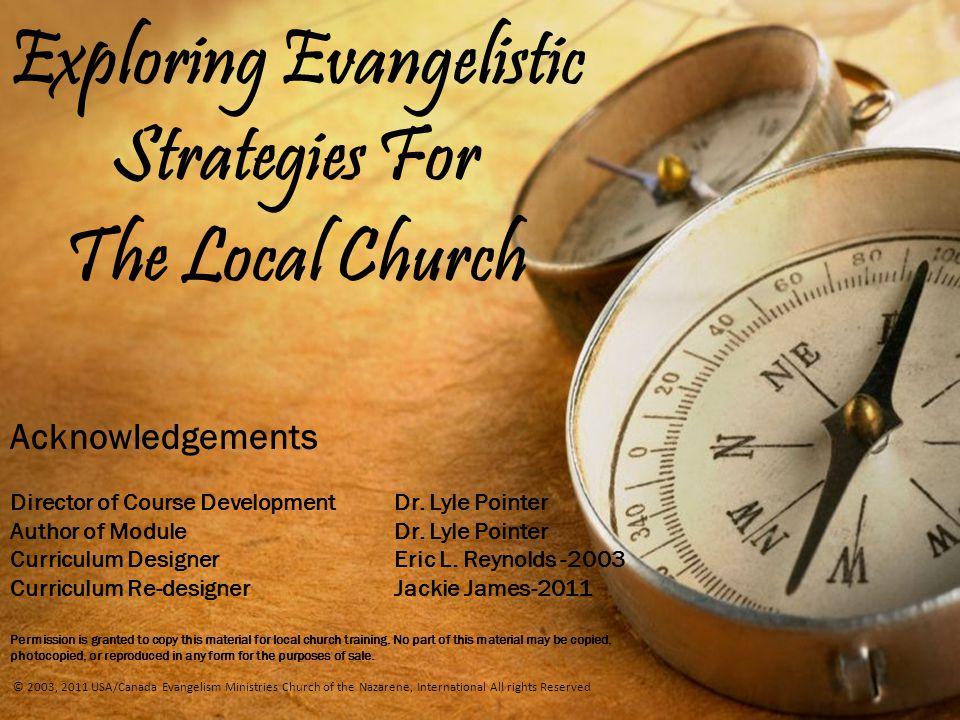 evangelism curriculum