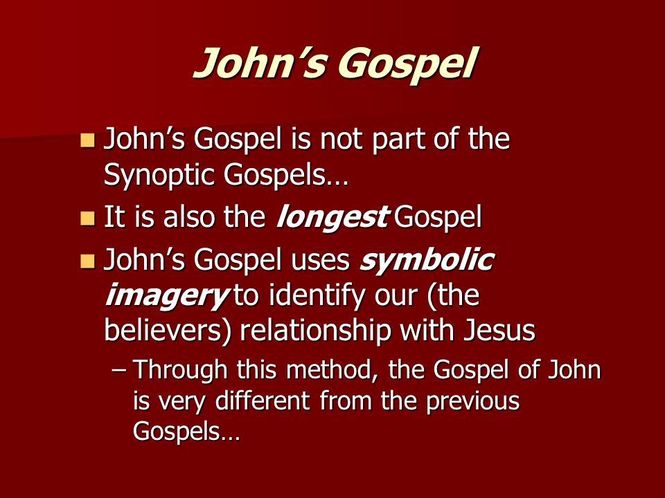 differences between the gospels