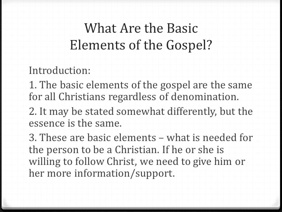 Talk 3 How To Give A Basic Gospel Presentation Ppt Video Online