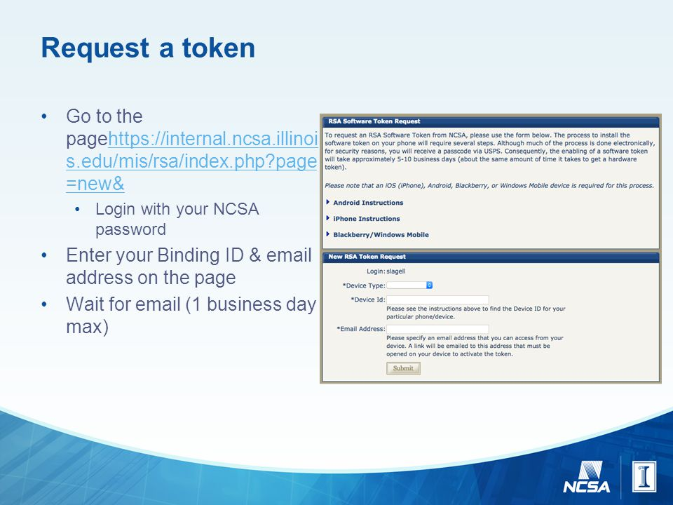 Two-factor Authentication Tutorial For NCSA Private Sector
