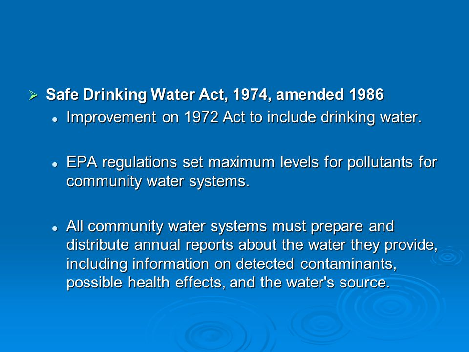 water act 1974