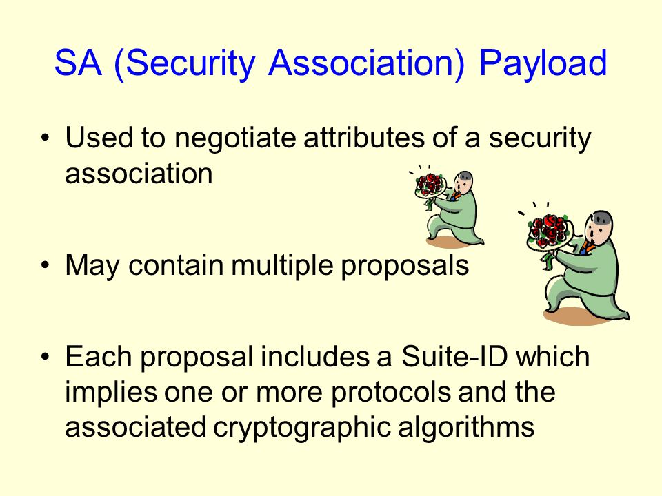 SA (Security Association) Payload