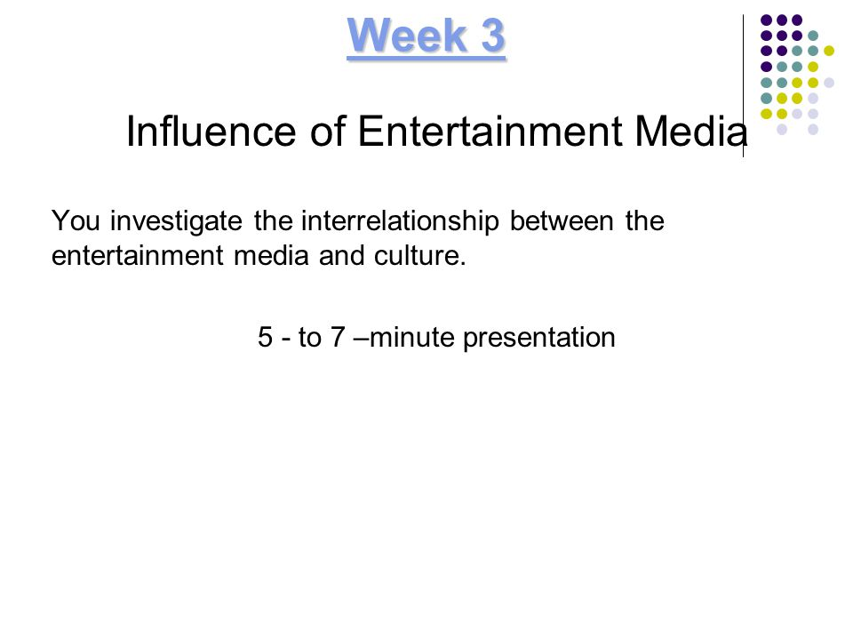 influence of entertainment media on american culture