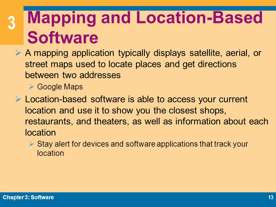 Chapter Software Ppt Video Online Download - Location mapping software