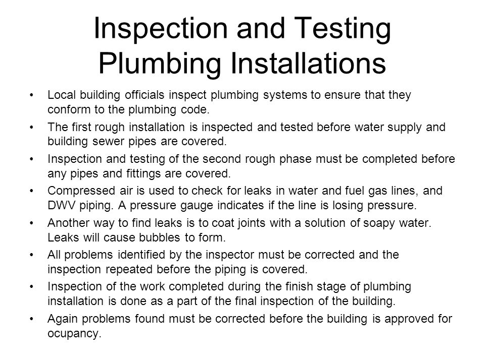 Chapter 23 Plumbing Systems. - ppt video online download