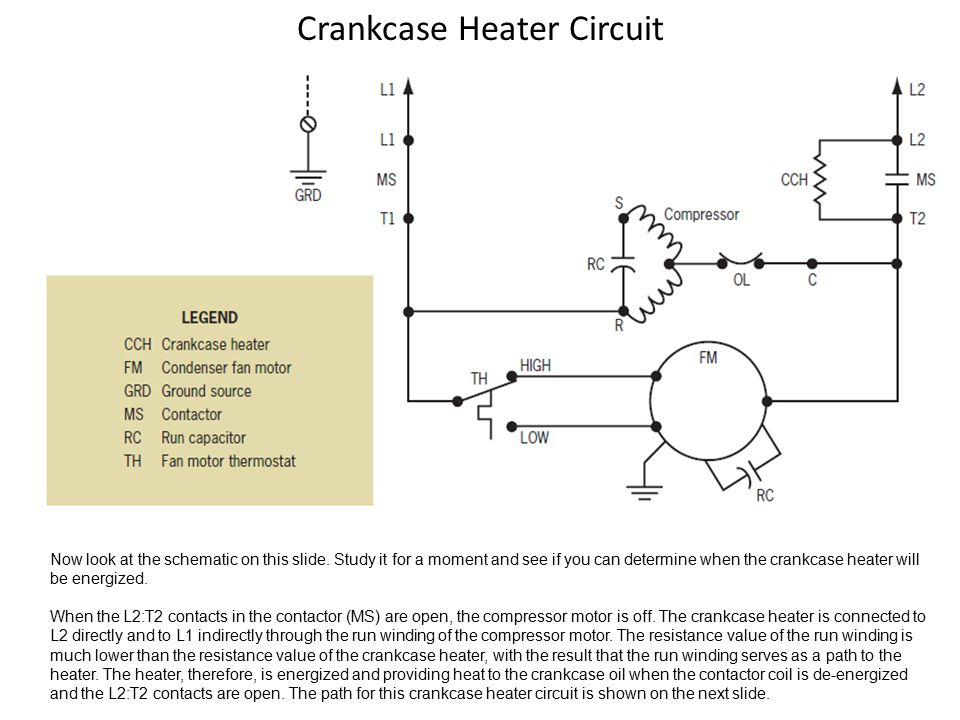 Crankcase Heater Wiring Wiring Diagram Shw