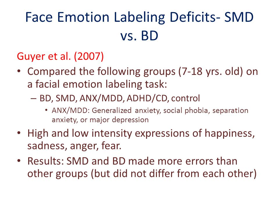 Disruptive Mood Dysregulation Disorder (DMDD) - ppt download
