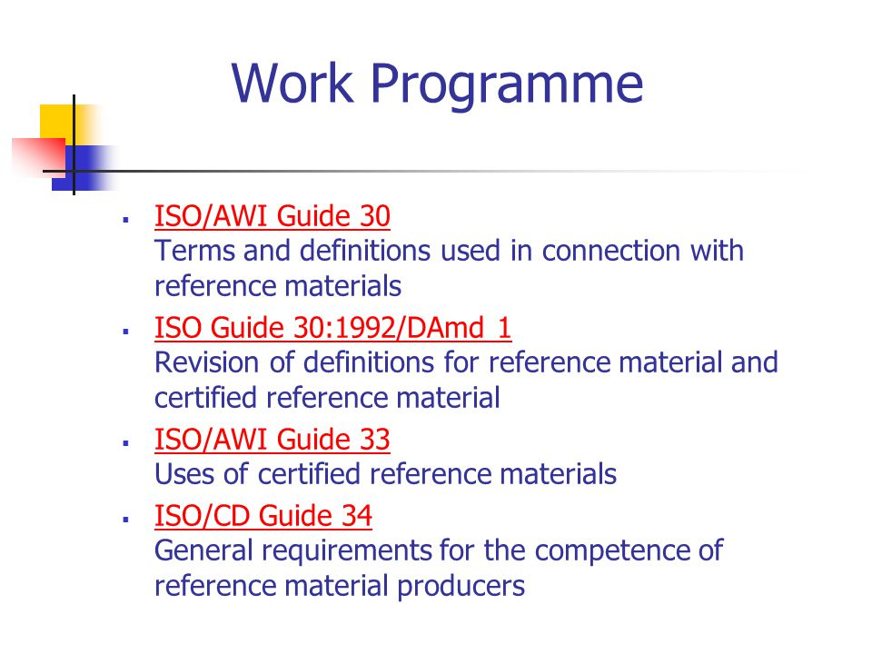 iso committee on reference materials ppt video online download rh slideplayer com iso guide 30 free download iso guide 30 pdf free