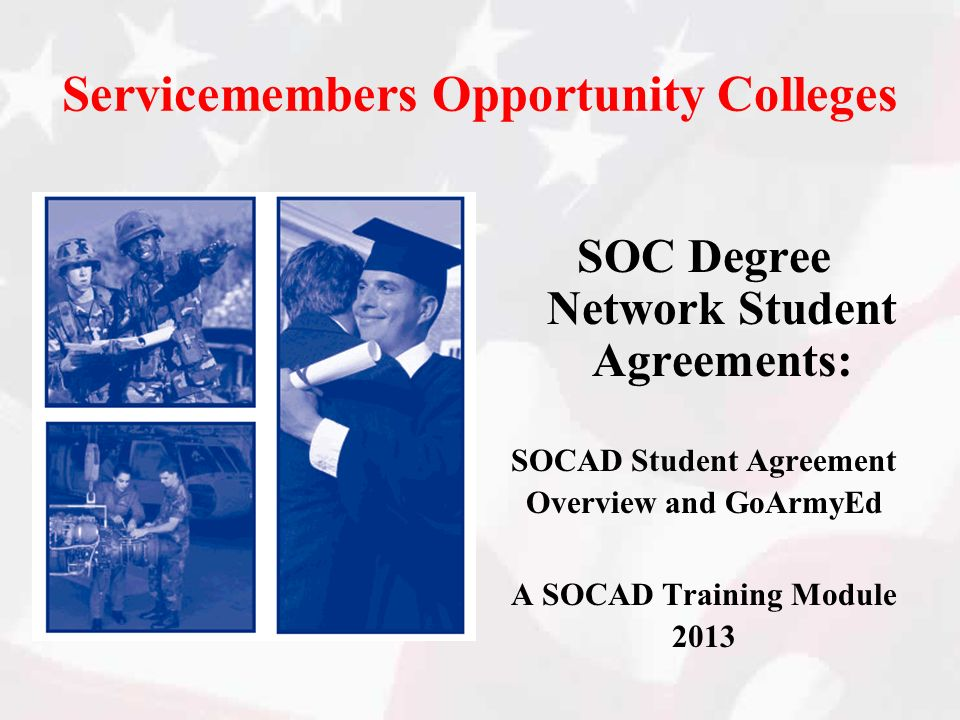 Servicemembers Opportunity Colleges
