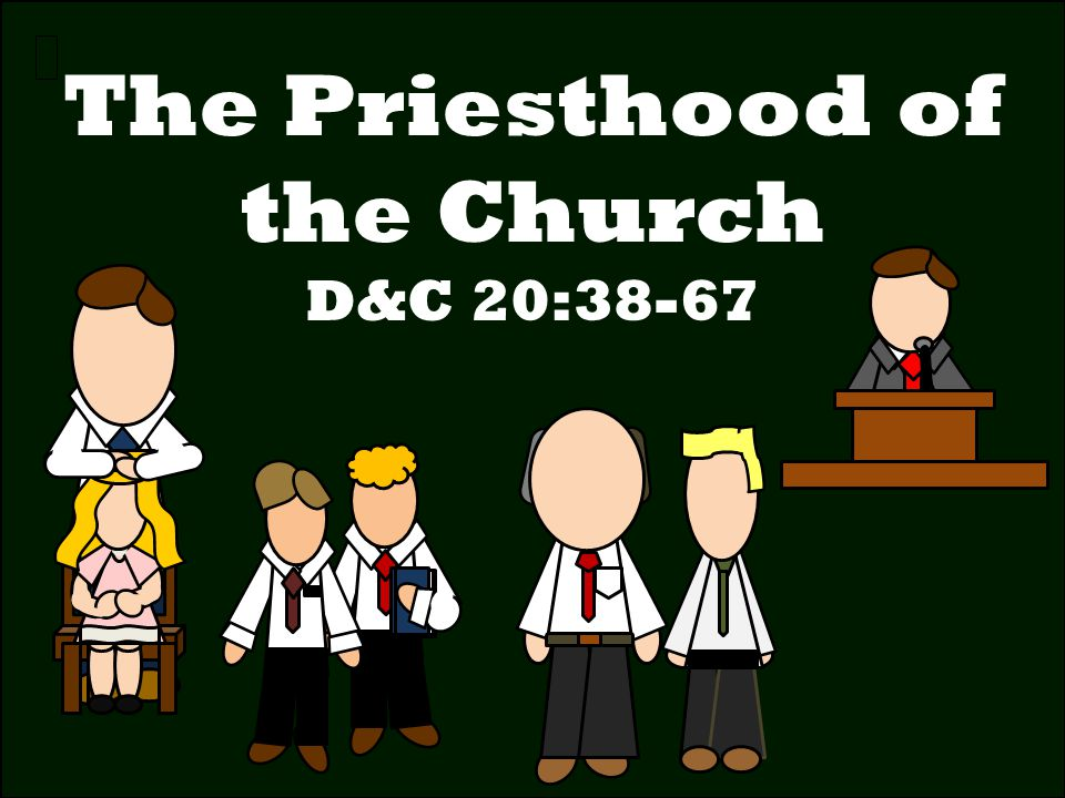 The Priesthood of the Church