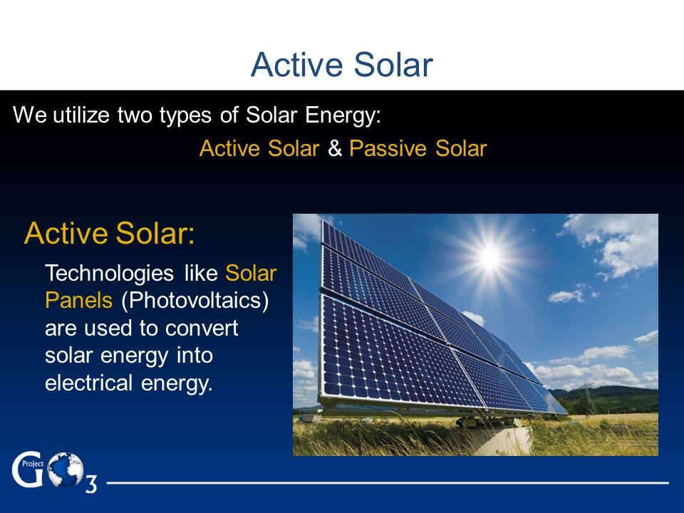 Electricity generation from solar energy, technology and economics.